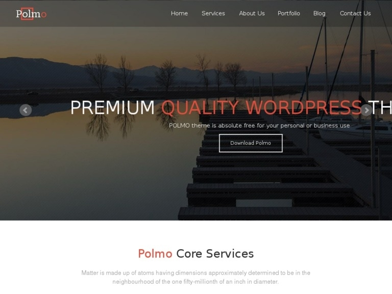 Polmo Wordpress Theme