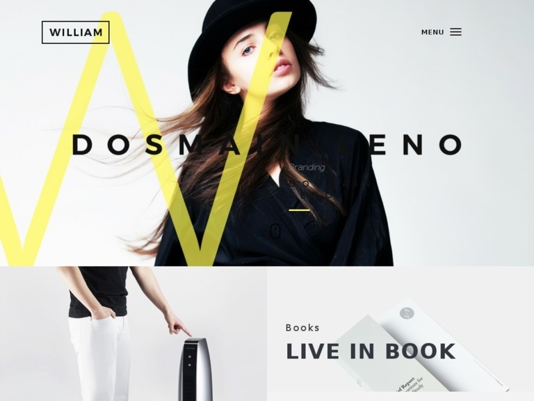 William - Creative Portfolio Theme