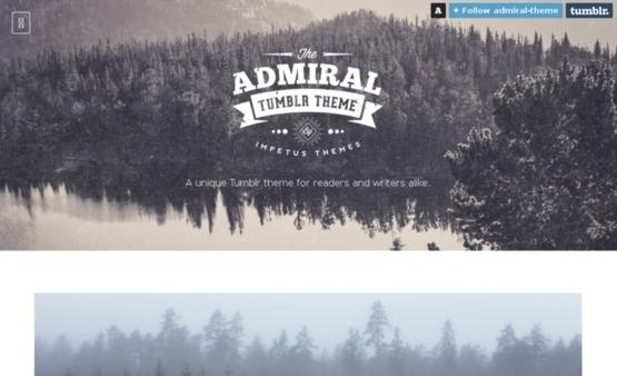 Admiral tumblr theme medium